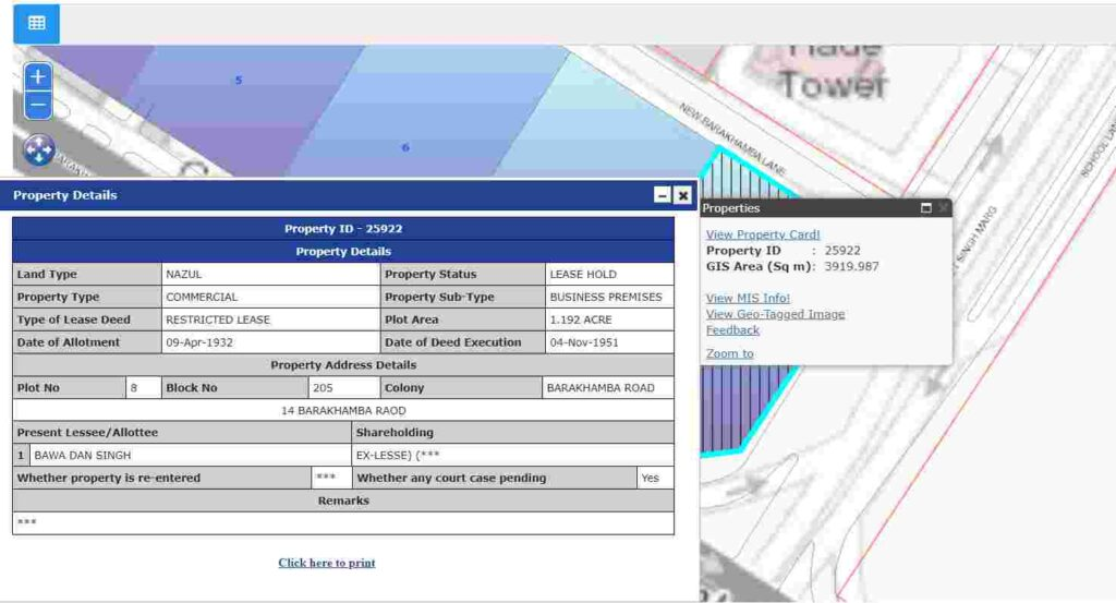 View Property Card Online