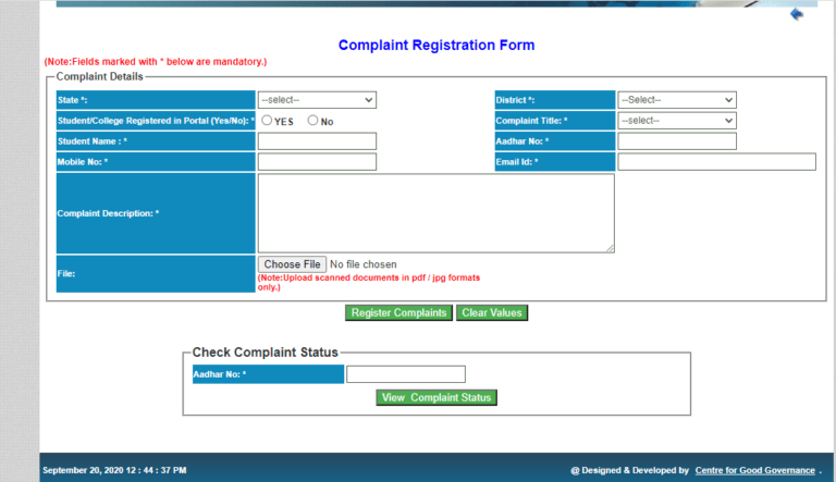 Jharkhand E Kalyan Portal Login Procedure