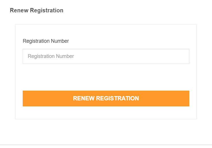 MP Rojgar Renew Registration